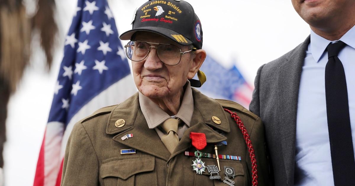 WWII 'Screaming Eagle' veteran Henry Ochsner dies at 96