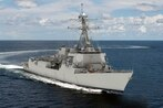 The newest weapon in the US Navy's arsenal is now under construction