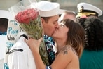 You've lost that lovin' feeling: Marriage and family hampered by military life, survey results say