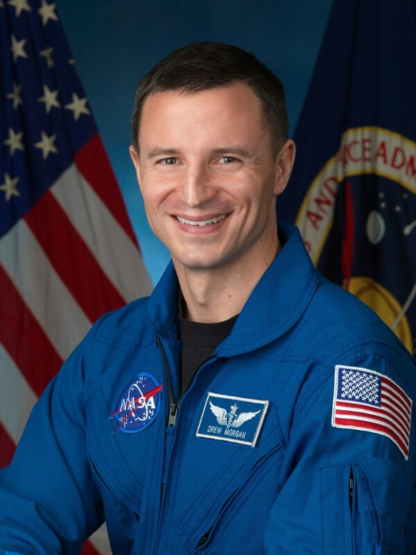 NASA astronaut Andrew Morgan, a military physician and graduate of the F. Edward Hebert School of Medicine at the DoD's Uniformed Services University of the Health Sciences, has been assigned to Expedition 60/61, which is set to launch to the International Space Station in July 2019.