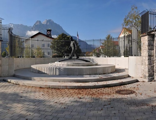 The George C. Marshall European Center for Security Studies is seen March 9, 2020, in Garmisch-Partenkirchen, Germany. (DoD)
