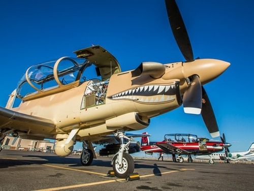 The Beechcraft AT-6 Wolverine, made by Textron. (Textron)