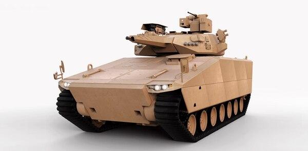South Korea's Hanwha makes the AS21 Redback infantry fighting vehicle. (Hanwha)