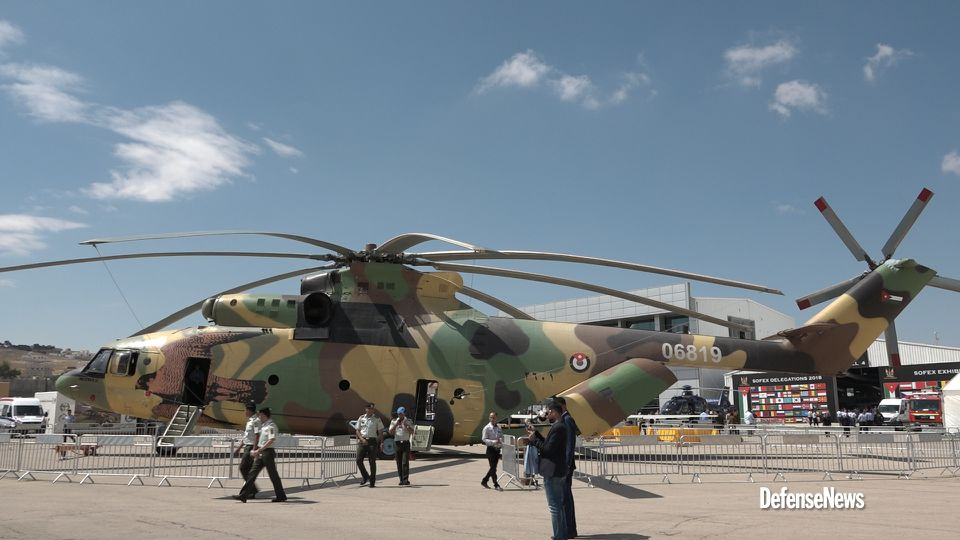 Clavijas simplemente Fielmente  Jordan's new behemoth Russian-made Mi-26 Halo enters the limelight at SOFEX