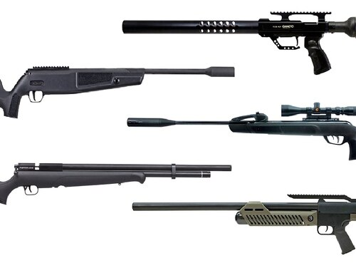 Our picks for the best new air rifles this year include some familiar brands and some impressive new tech. (Manufacturer photos)