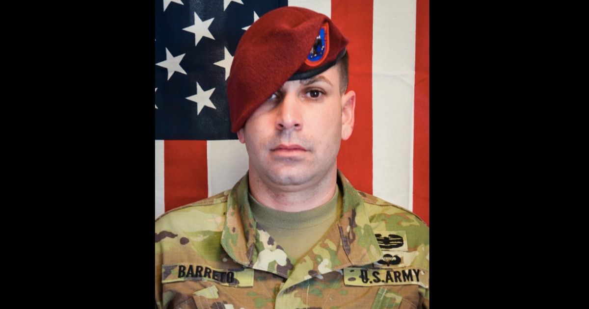 Paratrooper killed by vehicle-borne IED has been identified