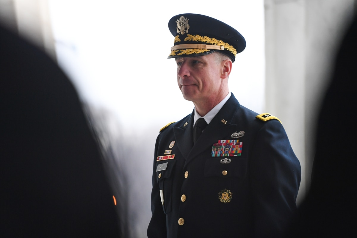 New vice chief commits to ongoing US Army reform to build