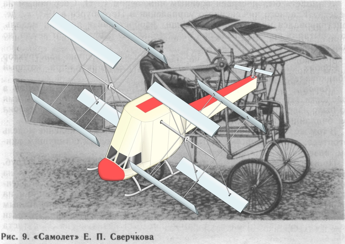 This Russian cyclocopter drone design was 110 years in the making