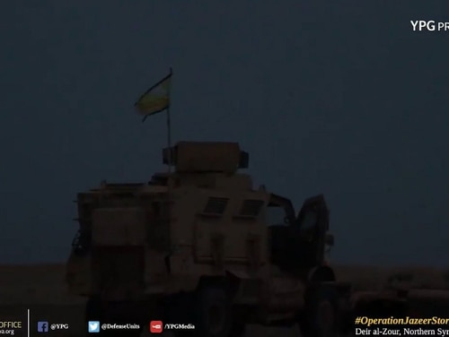 Kurdish People's Protection Units, or YPG, prepare for an assault against ISIS forces in the vicinity of Deir al-Zour. (YPG Press Office)