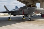 How is the F-35 improving its dogfighting skills in Japan?