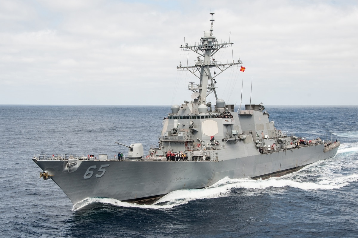 A US Warship Just Collided With a Tug Boat in Japanese Waters