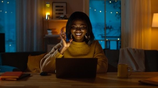 In this age of telework, dangers continue to lurk at home in digital meetups. But there are steps you can take to ensure privacy. (gorodenkoff/Getty Images)
