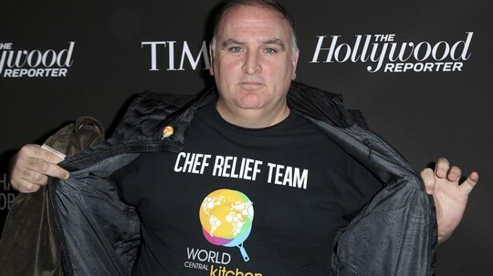 Chef Jose Andres is among many business owners offering free and discounted services to furloughed federal employees. (Willy Sanjuan/Invision/AP)