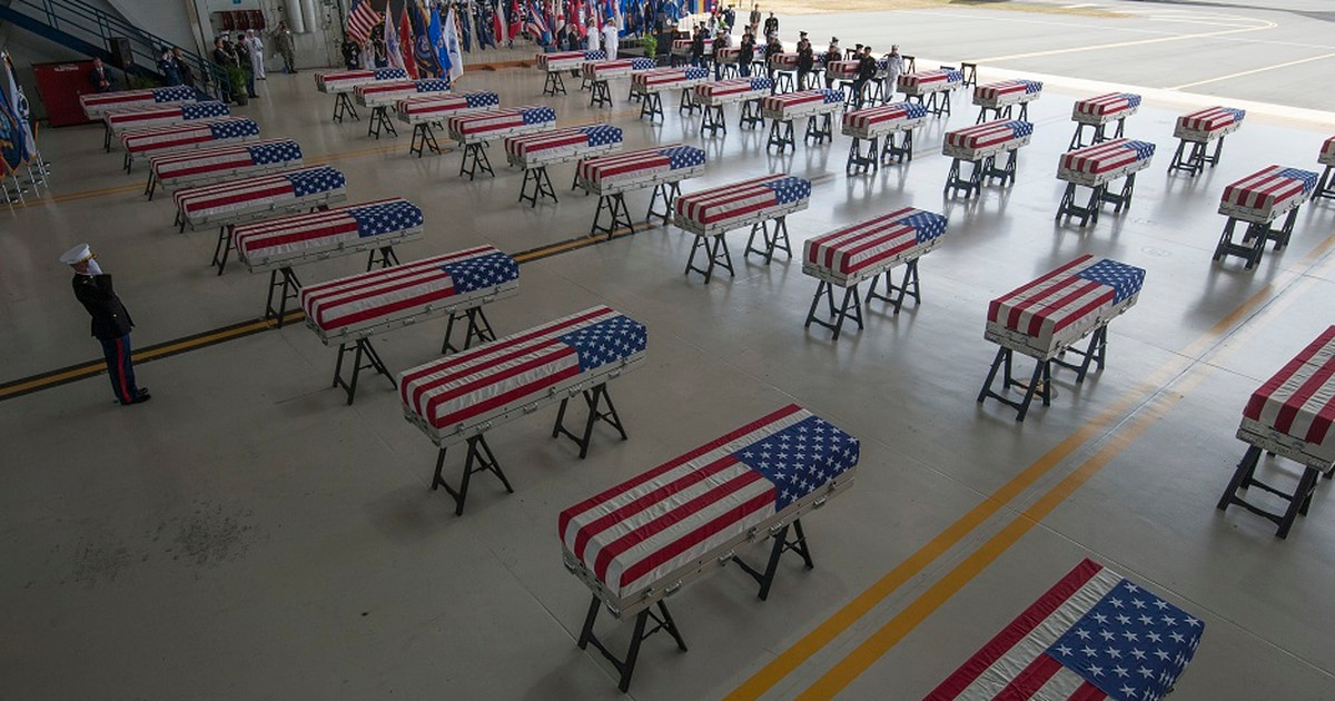Ohio soldier identified from remains returned by North Korea