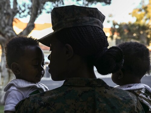 The Marine Corps is encouraging commanders to approve annual leave requests that effectively would extend leave for new parents by up to 60 days. (Lance Cpl. Quince Bisard/Marine Corps)