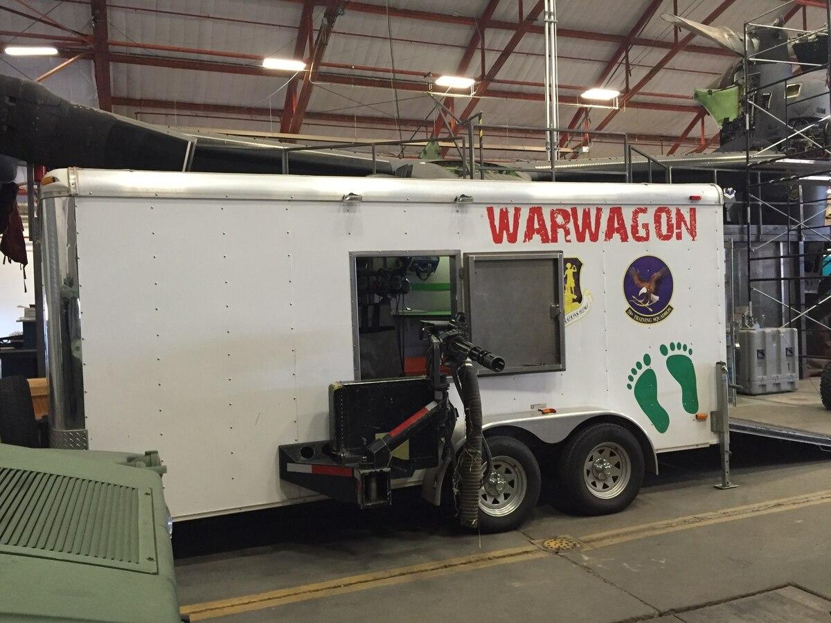 Image result for Inside the 'Monster Garage,' AFSOC Secret Training Weapon
