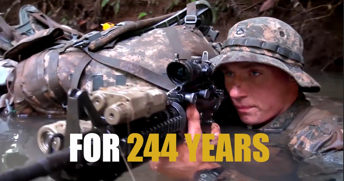 the us army celebrates it u0026 39 s 244th birthday