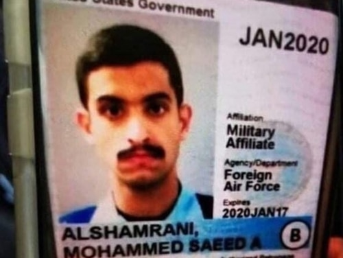 Mohammed Saeed Alshamrani. (Photo provided to Military Times)