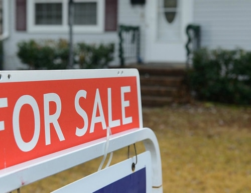 A home is advertised for sale in Hampton Roads, Va. (Staff Sgt. Teresa J. Cleveland/Air Force)