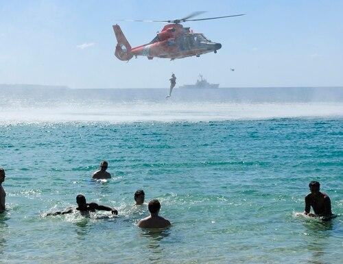 U.S. Coast Guard Air Station Borinquen operates in Aguidilla, Puerto Rico. (Coast Guard)