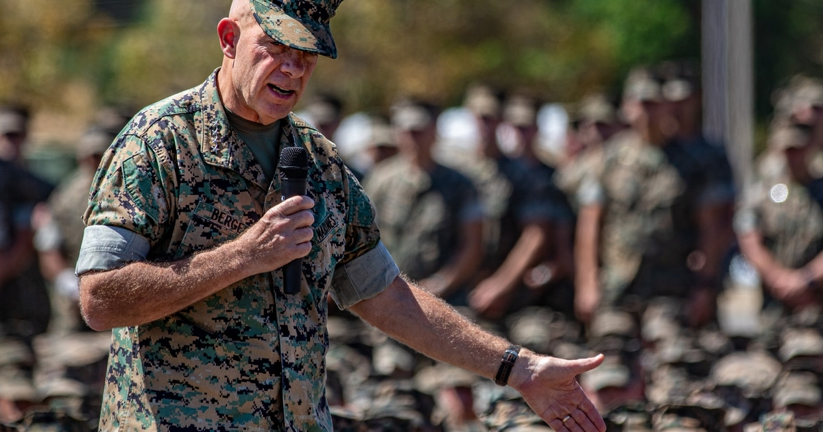 Heavy equipment out, unmanned logistics in for the Marine Commandant's wishlist