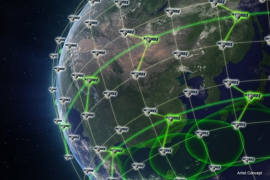 U.S. Special Operations Command is working to incorporate its own payloads into DARPA's project Blackjack, an effort to demonstrate the military utility of low earth orbit satellites. (DARPA)