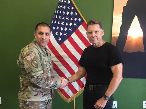 Monte L. Gould, a 59-year-old combat veteran, will be attending basic training this summer time after a decade away from service. (Courtesy photo)