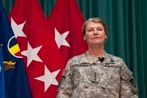 First female 4-star shares lessons in 'A Higher Standard'