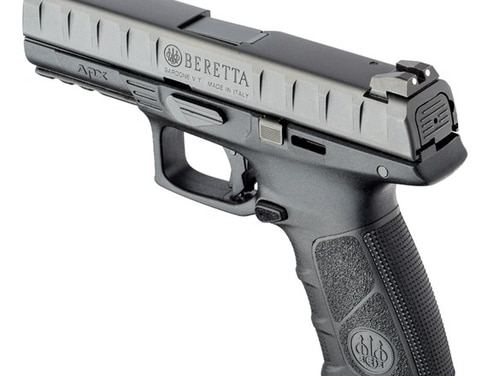 The Beretta APX is one of the pistols considered for competition in the Army's Modular Handgun System program. Ultimately, Sig Sauer won the contract to replace all standard issue 9mm sidearms for the service. (Beretta)