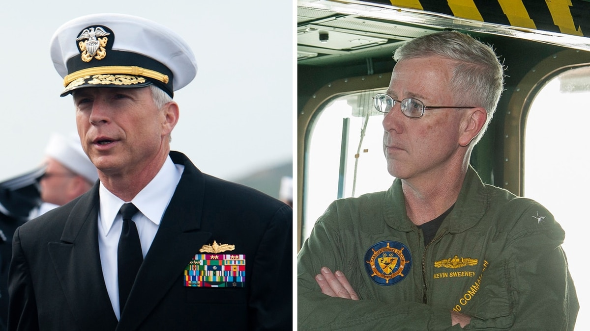 James Mattis has chosen these two admirals to be his top