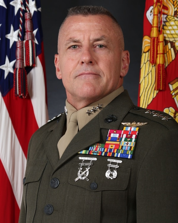 Lt. Gen. Robert Hedelund is the commanding general of the II Marine Expeditionary Force.