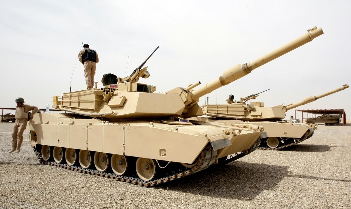 us abrams tanks sway the battle in kirkuk