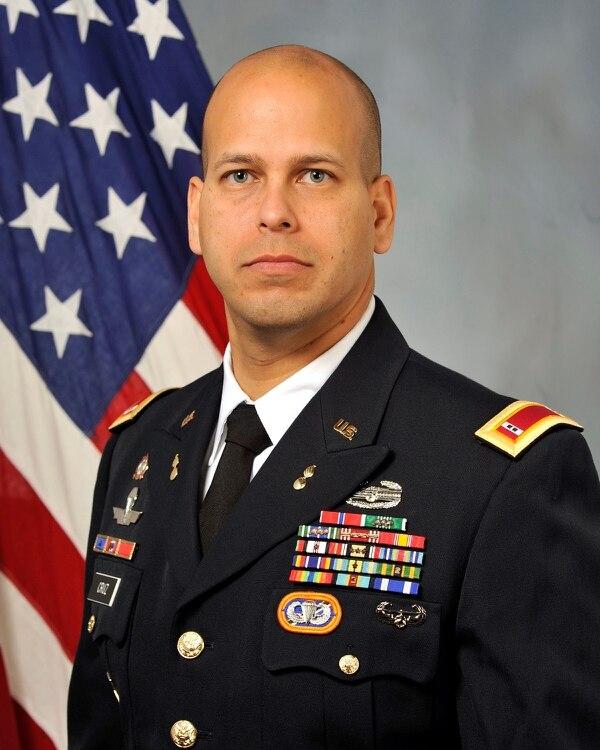 CWO3 Mickael Cruz, son of Staff Sgt. Francisco Cruz Salgado, serves with the 160th Special Operations Aviation Regiment. (Contributed)