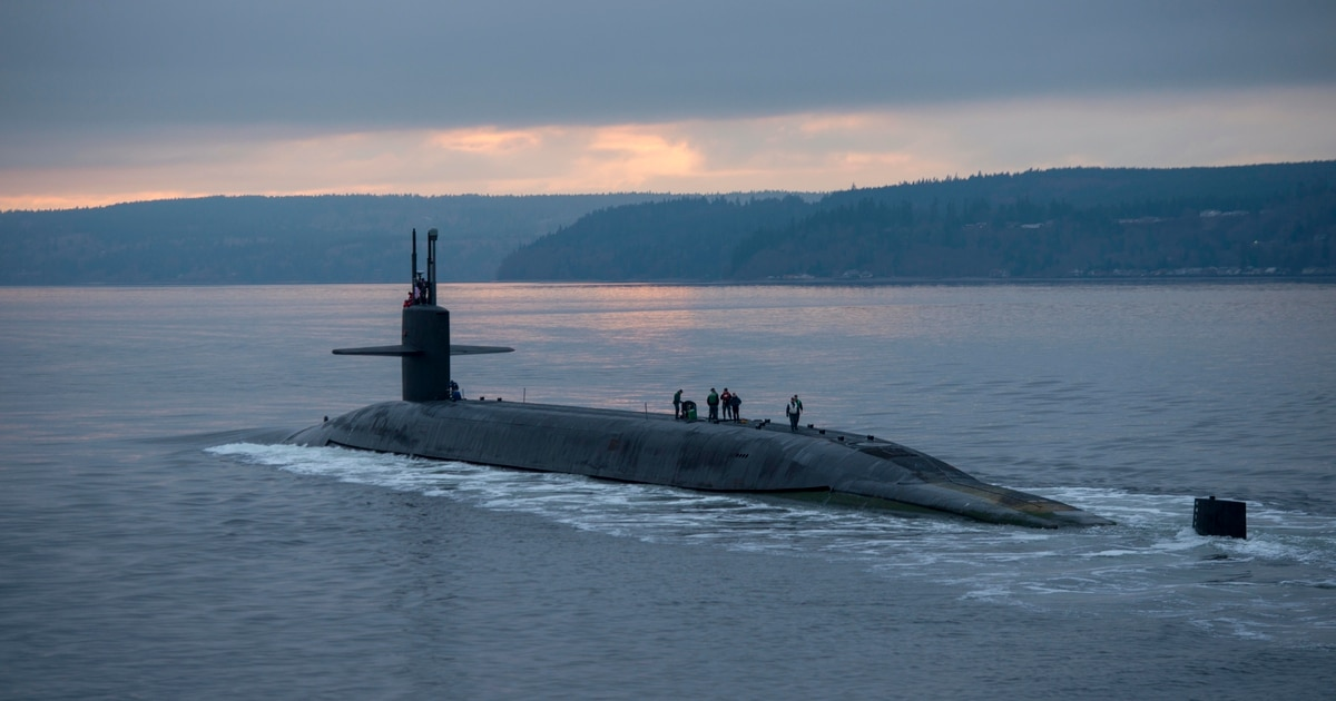 Nuclear deterrent still the US Navy's top priority, no matter the consequences, top officer says