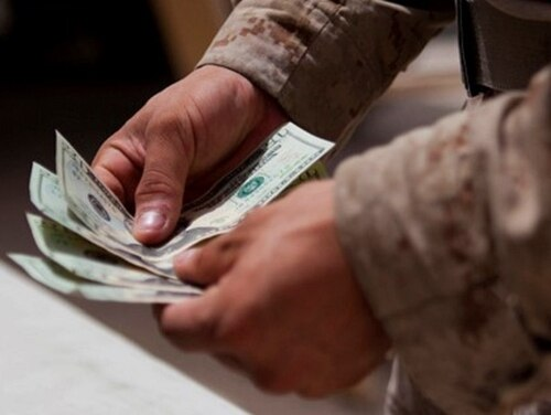 Troops would be in line for a 3.0 percent pay raise in 2021 under a budget request unveiled by the White House on Monday. (Cpl. Paul Peterson/Marine Corps)