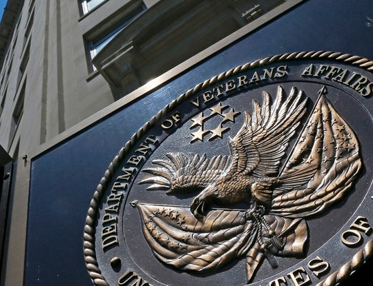 The front of the Department of Veterans Affairs headquarters in Washington, D.C. is shown in June 2013. (Charles Dharapak/AP)