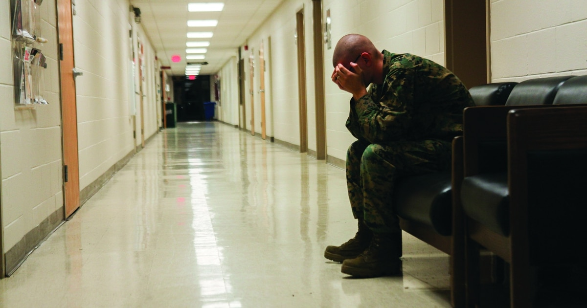Service members and police are teaming up to stop suicide