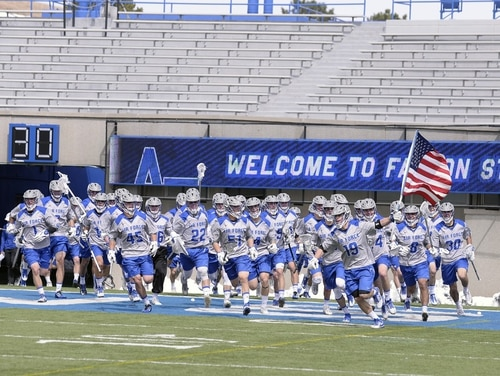The Air Force Academy found about 30 members of its lacrosse team were involved, in some way, in hazing of freshman cadets. Academy Superintendent Lt. Gen. Jay Silveria also said an investigation into hazing on the men's swim team found enough evidence to take action against some swimmers, some of whom may not be allowed to graduate and receive their commissions. (Mike Kaplan/Air Force)