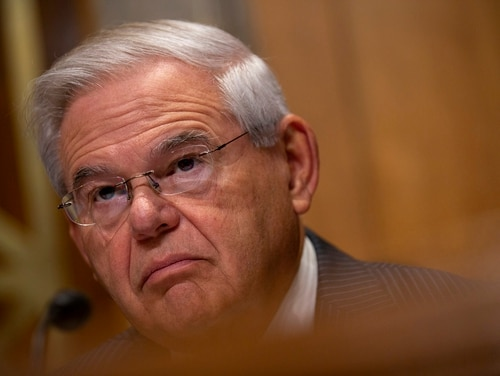 U.S. Sen. Bob Menendez, D-N.J. (Photo by Stefani Reynolds/Getty Images)