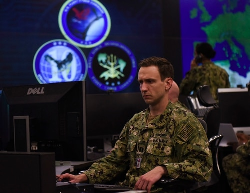 A new framework for the Navy will first focus on network operations and defensive cyber operations. (MC1 Samuel Souvannason/Navy)