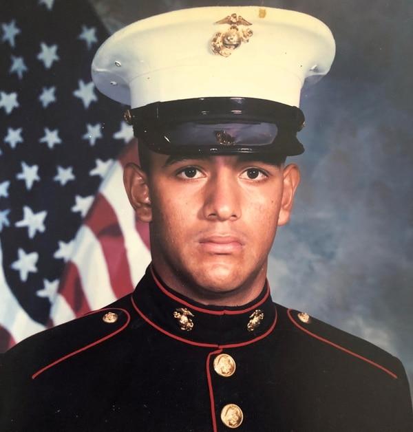 Former U.S. Marine Sgt. Cuauhtemoc
