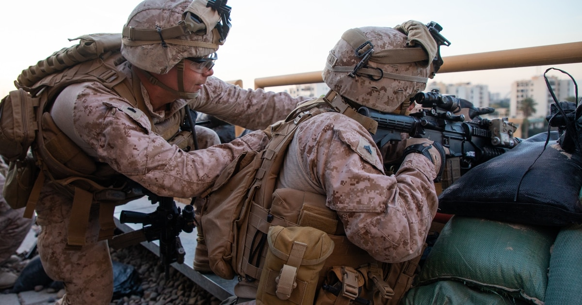 Thousands of Marines with 26th MEU move into the Red Sea
