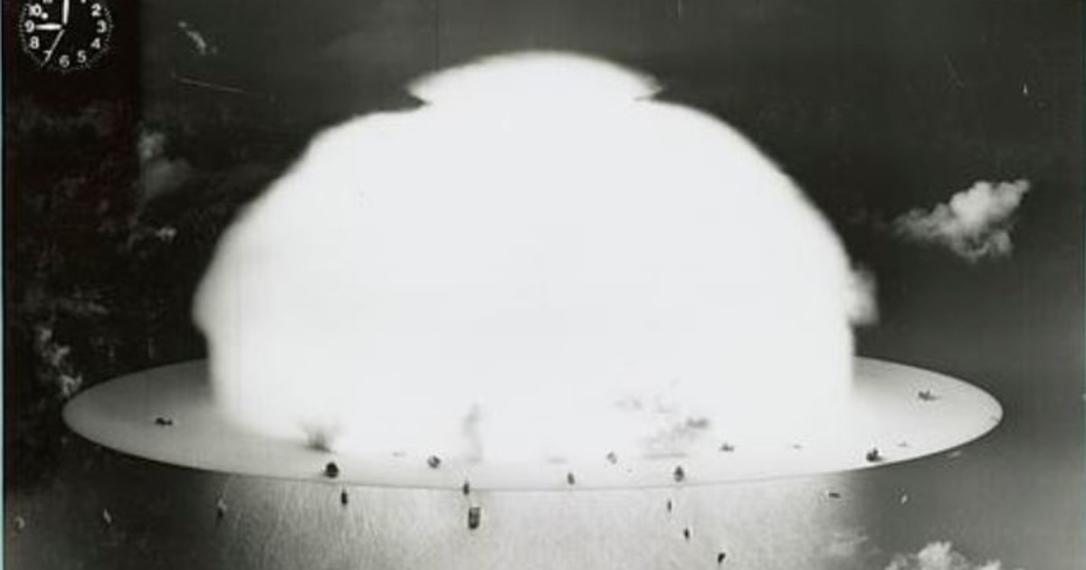 That time the US dropped an atomic bomb on a fleet of 95 ships