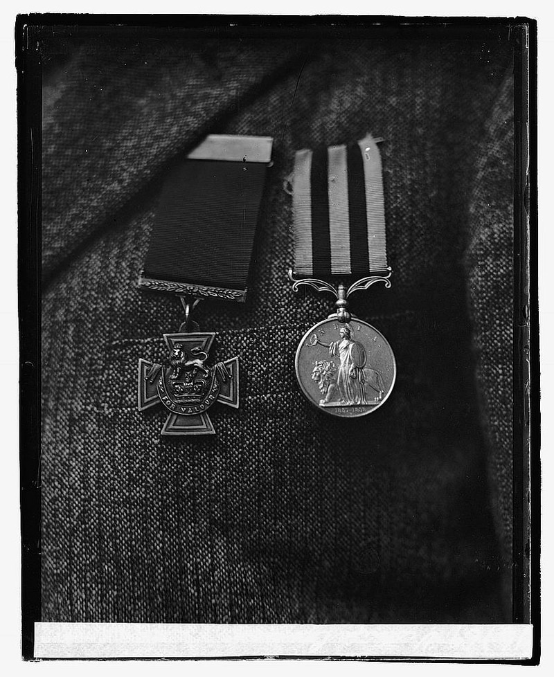 The Victoria Cross, 1921. (National Photo Company Collection, Library of Congress)