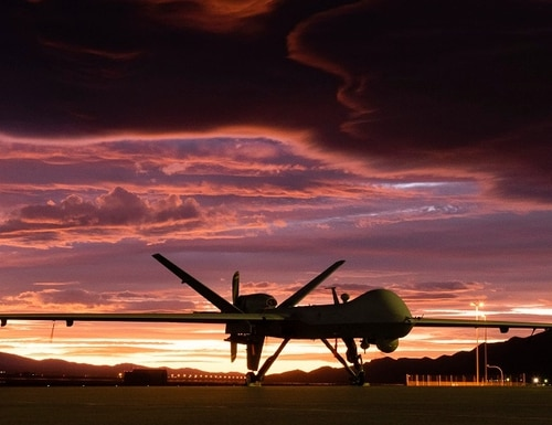 New rules from the U.S. State Department will make it easier to export drones, such as the MQ-9 Reaper. (Airman 1st Class William Rio Rosado/U.S. Air Force)