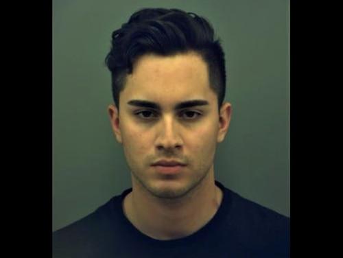 Pfc. Christian Alvarado was sentenced to 18 years in a military prison June 18, 2021. (Mugshot/El Paso Police)