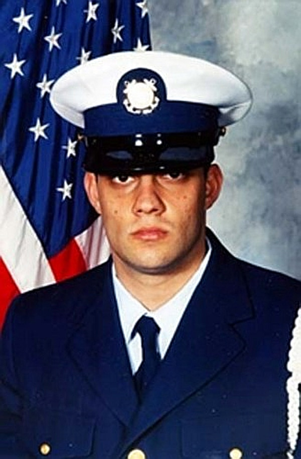 Petty Officer 3rd Class Nathan Bruckenthal joined the Coast Guard in 1999. (Coast Guard)
