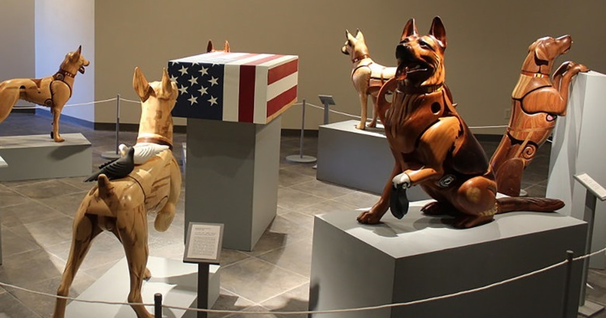 Wounded military working dog exhibit coming to the National Museum of the US Air Force