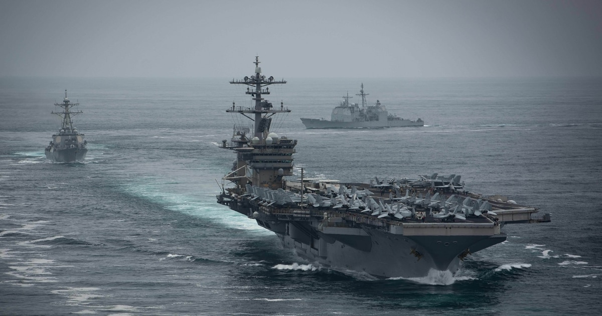 Navy sailing into 'choppy waters' after virus strikes carrier, retired admiral warns
