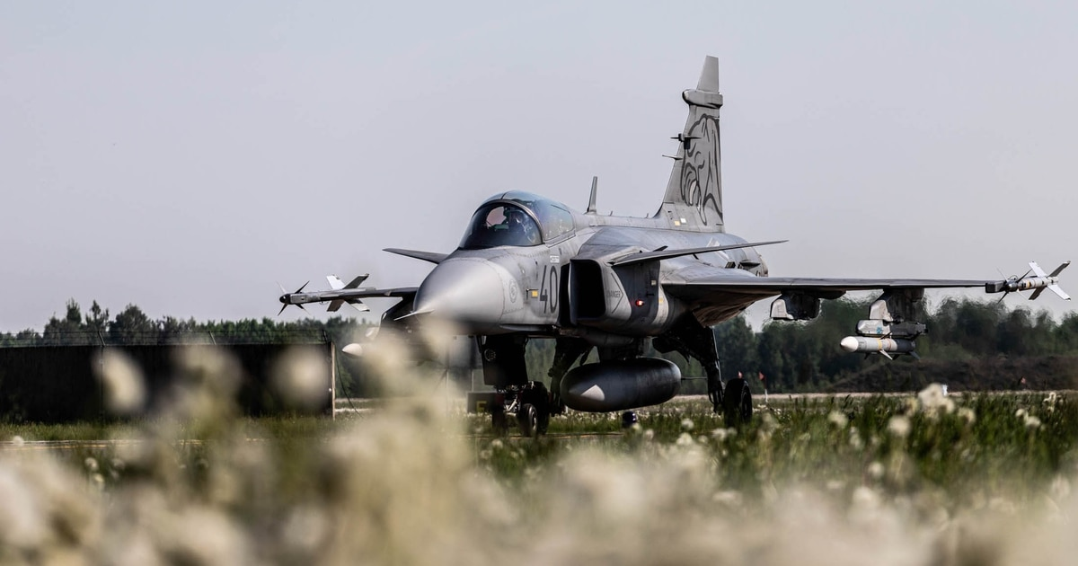 From air policing to air defense: Lithuania urges new tack in NATO's Baltic mission